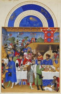 Ianuarie - Les Très riches heures du duc de Berry - foto: ro.wikipedia.org