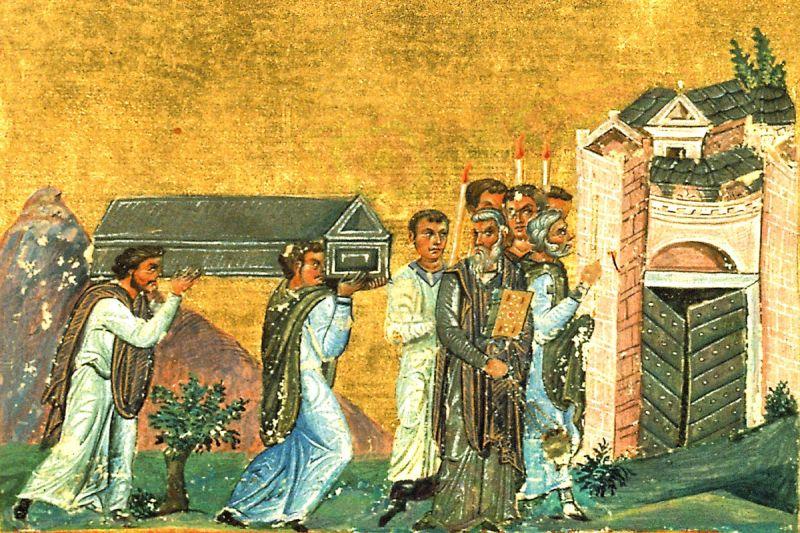 Aducerea moaștelor Sfântului Sfințit Mucenic Ignatie Teoforul (29 ianuarie) - foto: doxologia.ro