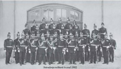 Intendența militară in anul 1902 - foto: agerpres.ro