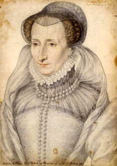 Jeanne d'Albret (16 noiembrie 1528 – 9 iunie 1572), cunoscută și ca Jeanne a III-a, a fost regină a Navarrei în perioada 1555 - 1572. S-a căsătorit cu Antoine de Bourbon, Duce de Vendôme și a fost mama lui Henric de Bourbon care a devenit rege al Navarrei și rege al Franței sub numele Henric al IV-lea al Franței, primul rege Bourbon. Prin căsătorie, ea a devenit Ducesă de Vendôme - in imagine - Jeanne III de Navara, portret de François Clouet, 1570 - foto: ro.wikipedia.org