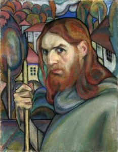Ion Theodorescu-Sion (n. 2 ianuarie 1882, Ianca, d. 31 martie 1939, București), pictor român - foto (Autoportret Ion Theodorescu-Sion): ro.wikipedia.org