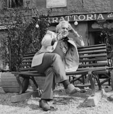 Irving Layton (n. 12 martie 1912 Târgu Neamț, România, d. 4 ianuarie 2006 Montreal, Canada) a fost un poet evreu canadian născut cu numele Israel Pincu Lazarovici, numele de fată al mamei sale fiind Flamplatz - foto: cersipamantromanesc.wordpress.com