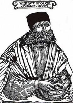 Johannes Honterus, născut Austen (n. 1498, Brașov - d. 23 ianuarie 1549, Brașov) a fost un învățat umanist sas, reformator religios al sașilor din Transilvania, fondatorul gimnaziului săsesc din Brașov, din curtea Bisericii Negre, actualul liceu Johannes Honterus - foto: ro.wikipedia.org