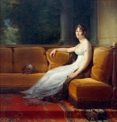 Joséphine de Beauharnais (n. 23 iunie 1763 – d. 29 mai 1814) a fost prima soție a lui Napoleon I și prima Împărăteasă a francezilor - in imagine: Portret al împărătesei Josephine, de François Gérard - foto: ro.wikipedia.org