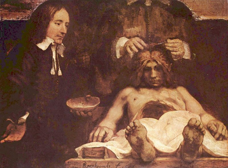 Rembrandt: The Anatomy Lesson of Dr. Deijman (1656) - foto: en.wikipedia.org