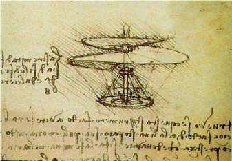 Leonardo da Vinci's Helicopter - foto: leonardodavincisinventions.com