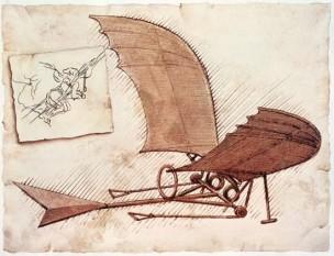 Da-Vinci- glider - foto: leonardodavincisinventions.com