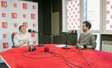 """Marian Ivan (OPTAR), invitat al emisiunii """"Planeta Verde"""" (RFI) din 11 ianuarie 2015 - foto: rfi.ro"""