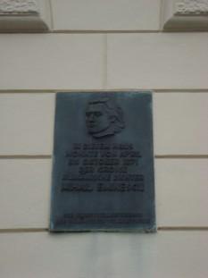 Plăcuța de pe casa din Viena în care a locuit Eminescu (Kollergasse 3) - foto: ro.wikipedia.org