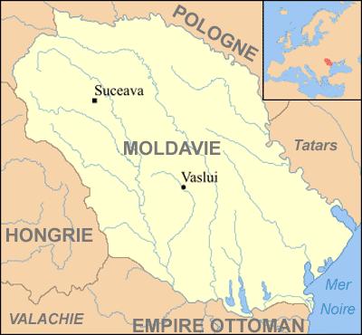 Moldova sec. al XV-lea - foto: ro.wikipedia.org