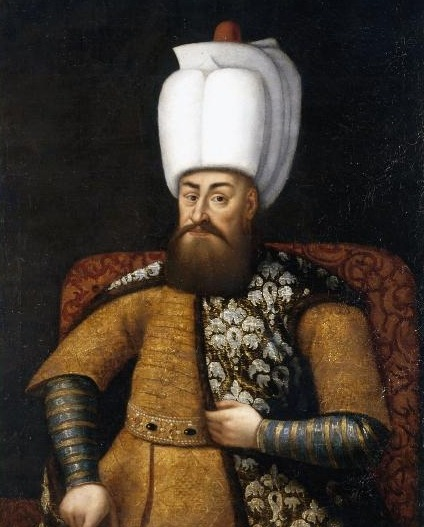 Murad al III-lea (n. 4 iulie 1546 − d. 15 ianuarie 1595) a fost sultanul Imperiului Otoman din 1574 până la moartea sa - in imagine, A life-size portrait of Sultan Murad III (1574-1595), attributed to a Spanish artist, 17th century - foto preluat de pe ro.wikipedia.org
