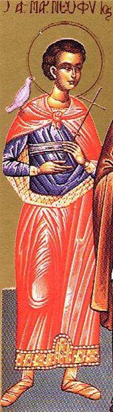 Sfântul Mucenic Neofit. Prăznuirea lui în Biserica Ortodoxă se face pe 21 ianuarie și 13 august (mutarea moaștelor) - foto: doxologia.ro