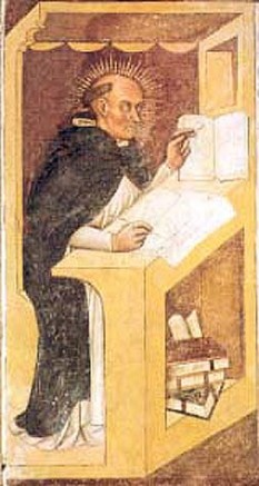 Sf. Raimund din Penyafort (n. 1175 în apropiere de Barcelona, d. 1275) a fost preot catolic, călugăr dominican, Sfânt în Biserica Catolică, sărbătorit  la 7 ianuarie - foto: ro.wikipedia.org