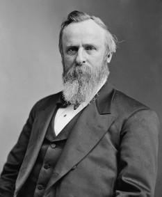Rutherford Birchard Hayes, adesea Rutherford B. Hayes (n. 4 octombrie 1822; d. 17 ianuarie 1893), a fost un politician, avocat, lider militar american și cel de-al nouăsprezecelea președinte al Statelor Unite ale Americii, servind un singur mandat (1877 - 1881) - foto: ro.wikipedia.org