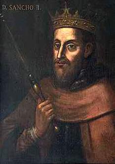 Sancho al II-lea al Portugaliei, supranumit Călugăr (n. 8 septembrie 1207, Coimbra - d. 4 ianuarie 1248, Toledo), a fost cel de-al patrulea rege al Portugaliei, fiul cel mare al lui Afonso al II-lea al Portugaliei cu soția sa, Prințesa Urraca de Castilia. Sancho a devenit rege în 1223 și a fost urmat de fratele său, Afonso al III-lea, în 1247. A murit în exil la Toledo, pe 4 ianuarie 1248 - foto: ro.wikipedia.org