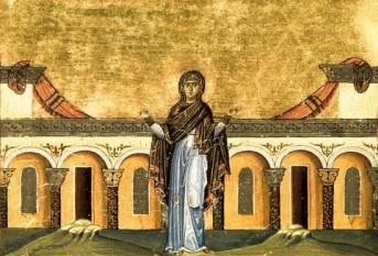 Sfânta Cuvioasă Sinclitichia. Pomenirea sa de către Biserica ortodoxă se face la data de 5 ianuarie - foto: doxologia.ro
