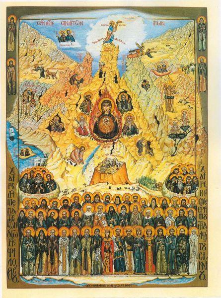 Soborul Sfinţilor Sinaiţi. Pomenirea lor de către Biserica Ortodoxă se face la 14 ianuarie - foto: doxologia.ro