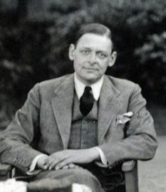 Thomas Stearns Eliot (n. 26 septembrie 1888 – d. 4 ianuarie 1965) a fost un poet anglo-american, dramaturg și teoretician literar, laureat al Premiului Nobel pentru Literatură (1948). Prin arta sa remarcabilă, T.S.Eliot a revoluționat întreaga poezie modernă engleză - in imagine - T.S. Eliot după Lady Ottoline Morrell (1934) - foto: ro.wikipedia.org