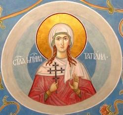 Sfânta Muceniță Tatiana a fost o diaconiță din Biserica Romei din secolul al III-lea care a trăit în timpul domniei împăratului Alexandru Sever (222-235). Prăznuirea ei se face pe 12 ianuarie - foto: doxologia.ro