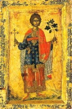Sfântul Mucenic și făcător de minuni Trifon a trăit în secolul al III-lea (n. 232 d.Hr. - d. 250 d.Hr). A pătimit în timpul persecuției creștinilor ordonate de împăratul Decius. A primit moarte mucenicească în anul 250, prin tăierea capului, răbdând mai înainte multe alte chinuri. Este considerat ca fiind ocrotitor al grădinilor, al livezilor și al păsărilor, și ca fiind cel ce poate îndepărta insectele dăunătoare și păzi lanurile de secetă și grindină. Prăznuirea sa în Biserica Ortodoxă se face la 1 februarie - foto: doxologia.ro