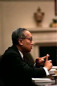 Maha Thray Sithu U Thant (22 ianuarie 1909 – 25 noiembrie 1974) a fost un diplomat birmanez ce a ocupat postul de Secretar General al Națiunilor Unite între 1961 și 1971 - foto: ro.wikipedia.org