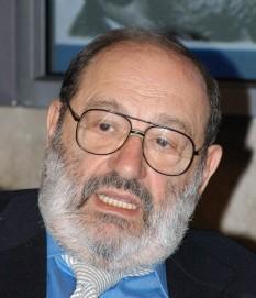 Umberto Eco (n. 5 ianuarie 1932, în Alessandria, Piemont), scriitor italian, , editor, filosof și un foarte cunoscut semiotician - foto: ro.wikipedia.org
