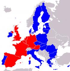 State care nu au impus restricţii (sau au renunţat la restricţiile) pe piaţa de muncă cetăţenilor români şi bulgari - foto: ro.wikipedia.org
