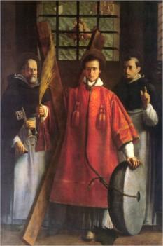 Sf. Vicențiu (n. ?, d. cca. 304, Valencia), a fost un diacon spaniol, sfânt martir. Este sărbătorit în Biserica Catolică la 22 ianuarie - in imagine, Sf. Vicenţiu în închisoare. Ulei pe pânză, autor anonim din sec. XVII - foto: ro.wikipedia.org