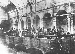 10 ianuarie 1863:  Este deschisă la Londra prima linie de transport subteran - foto: cersipamantromanesc.wordpress.com