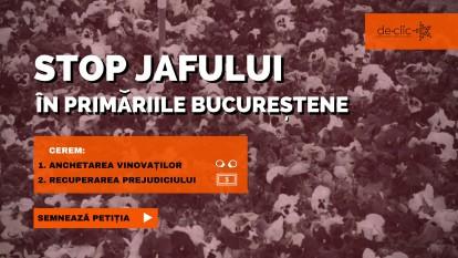 Stop jafului public în primăriile bucureștene - foto: de-clic.ro