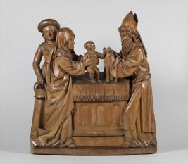Întâmpinarea Domnului este o sărbătoare creștină, ortodoxă, catolică si luterană (2 februarie) - in imagine, Prezentarea pruncului Isus în Templu, ca. 1470, Muzeul Catharijneconvent, Utrecht - foto: ro.wikipedia.org