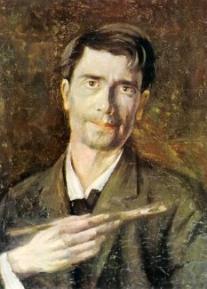 Ștefan Luchian (n. 1 februarie 1868, Ștefănești, Botoșani - d. 28 iunie 1916, București) a fost un pictor român, supranumit poetul plastic al florilor. Cu o vocație declarată încă din școala primară, l-a avut în perioada de formare ca maestru nedisputat pe Nicolae Grigorescu. Educația sa plastică a început la Școala de Belle-Arte, dar a fost completată la München și Paris - in imagine, Ștefan Luchian, Un zugrav - Autoportret [1907] -  foto: ro.wikipedia.org