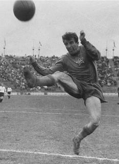 Alexandru Apolzan (n. 6 februarie 1927, Sibiu - d. 23 decembrie 1982, București) a fost un fotbalist român, care s-a făcut remarcat la CCA București și a ajuns să joace în echipa națională de fotbal a României. Este considerat unul dintre cei mai buni fundași din istoria fotbalului românesc - foto: fcsteaua.ro