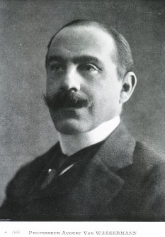 August Paul von Wassermann (n. 21 februarie 1866, Bamberg, Bavaria - d. 16 martie 1925, Berlin) a fost medic și bacteriolog german, cunoscut pentru descoperirea, în 1906, a reacției ce-i poartă numele - foto: ro.wikipedia.org