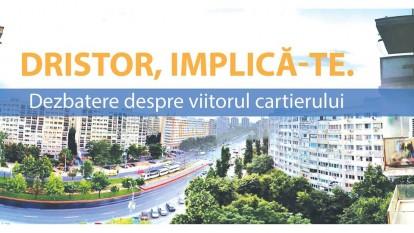 Dristor, implică-te: dezbatere - cum vrei să arate cartierul? - foto: facebook.com