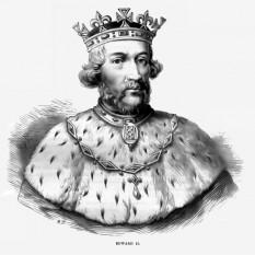Eduard al II-lea (n. 25 aprilie 1284 – d. 21 septembrie 1327), a fost rege al Angliei din 1307 pâna în ianuarie 1327. Eduard al II-lea a fost primul monarch care a fondat colegiile universităților din Oxford și Cambridge; el a fondat Cambridge's King's Hall în 1317 și a dat statut regal Colegiului Oriel din Oxford în 1326 - in imagine, Eduard al II-lea Din grația lui Dumnezeu, Rege al Angliei Lord al Irlandei și Duce de Aquitaine - foto: ro.wikipedia.org