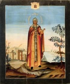 Sfânta Cuvioasă Muceniță Evdochia. Pomenirea sa de către Biserica Ortodoxă se face la data de 1 martie - foto: basilica.ro