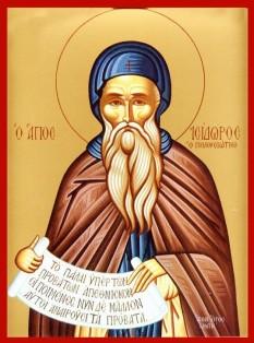 Cuviosul și de Dumnezeu purtătorul Părintele nostru Isidor Pelusiotul a fost călugăr în deșerturile Egiptului. S-a aşezat pe muntele Pelusion, locul împlinirii celor mai multe din nevoinţele sale. A trecut la Domnul în preajma anului 436. Biserica îl prăznuieşte pe 4 februarie - foto: doxologia.ro