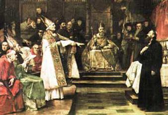 Jan Hus în faţa Consiliului din Konstanz - foto: ro.wikipedia.org