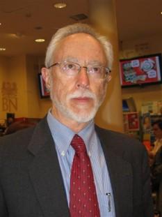 John Maxwell Coetzee (n. 9 februarie 1940, Cape Town) este un romancier sud-african, laureat al Premiului Nobel pentru Literatură în 2003 - in imagine, John M. Coetzee în Polonia, Varșovia, 6 iunie 2006 - foto: ro.wikipedia.org