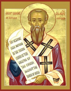 Sfântul Leandru, Arhiepiscop al Sevillei, (n. Cartagena, cca. 534 – m. Sevilla, 13 martie 600/601). Pomenirea sa de către Biserica Ortodoxă se face la data de 27 februarie - foto: doxologia.ro