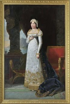 Maria Letizia Buonaparte (24 august 1750 – 2 februarie 1836) a fost mama împăratului Napoleon I al Franței - in imagine, Letizia Ramolino de Robert Lefèvre, 1813 - foto: ro.wikipedia.org