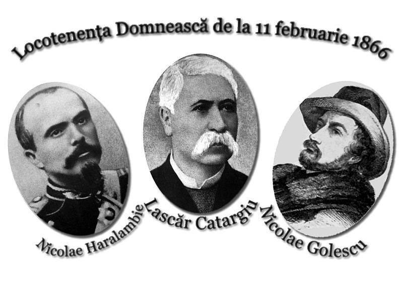 Locotenenţa Domnească din 1866 s-a constituit la 11 februarie 1866, în urma abdicării forţate a domnitorului Alexandru Ioan Cuza (11 februarie – 10 mai 1866) - foto preluat de pe ro.wikipedia.org