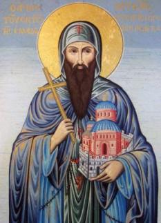 Sfântul Cuvios Luca din Elada. Prăznuirea sa de către Biserica Ortodoxă se face la data de 7 februarie - foto: doxologia.ro