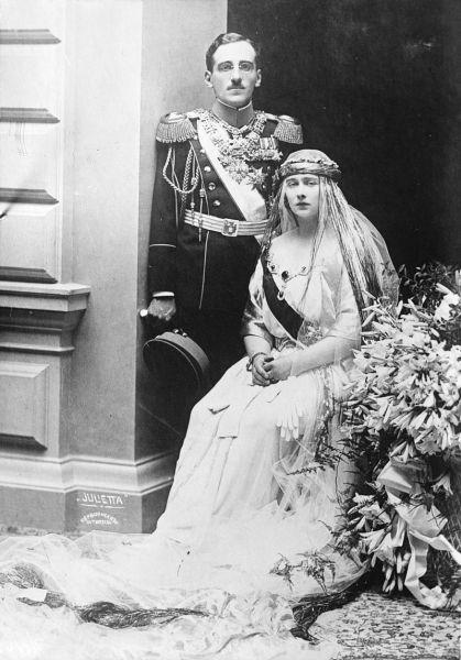 Principesa Maria (Mignon) a României și Principele Alexandru (unicul fiu al regelui Serbiei, Petru I Karagheorghevici - foto: ro.wikipedia.org