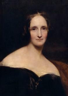 Mary Shelley (Mary Wollstonecraft Godwin, 30 august 1797 - 1 februarie 1851) a fost o scriitoare britanică, dramaturg, eseist, biograf și editor al operelor soțului ei, poetul romantic și filozoful Percy Bysshe Shelley. A fost fiica lui William Godwin, care era preocupat de filozofia politică și a scriitoarei, filozoafei și feministei Mary Wollstonecraft. Mary Shelley este cel mai bine cunoscută pentru romanul Frankenstein (1818), fiind considerată drept precursoarea scrierilor știintifico-fantastice moderne - foto: ro.wikipedia.org