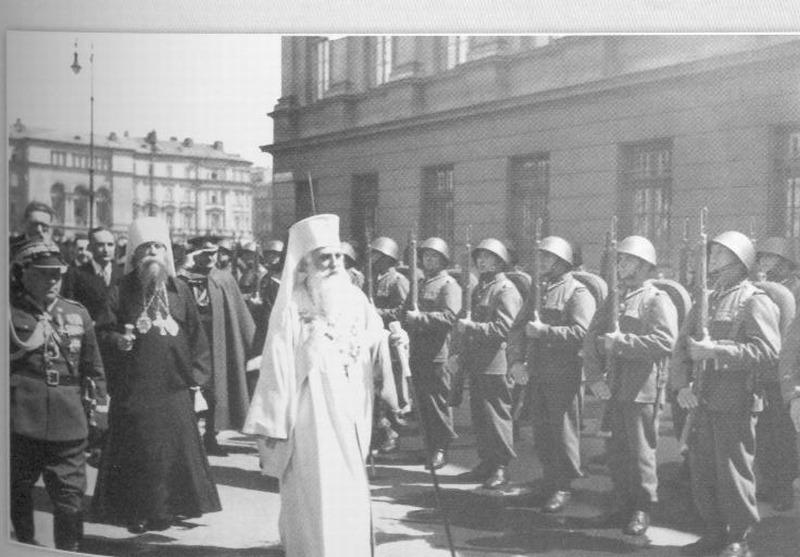 Miron Cristea, pe numele de mirean Elie Cristea (n. 20 iulie 1868, Toplița   d. 6 martie 1939, Cannes, Franța) a fost un publicist, filolog, politician român cu vederi antisemite[2], senator, regent (20 iulie 1927 - 8 iunie 1930) și teolog, primul patriarh al Bisericii Ortodoxe Române (1925 - 1939). În perioada 1 februarie 1938 – 6 martie 1939, a fost prim-ministru al României. La 7 iunie 1919 a fost ales membru de onoare al Academiei Române - in imagine, Patriarhul Miron Cristea la instalare - foto; patriarh.ro
