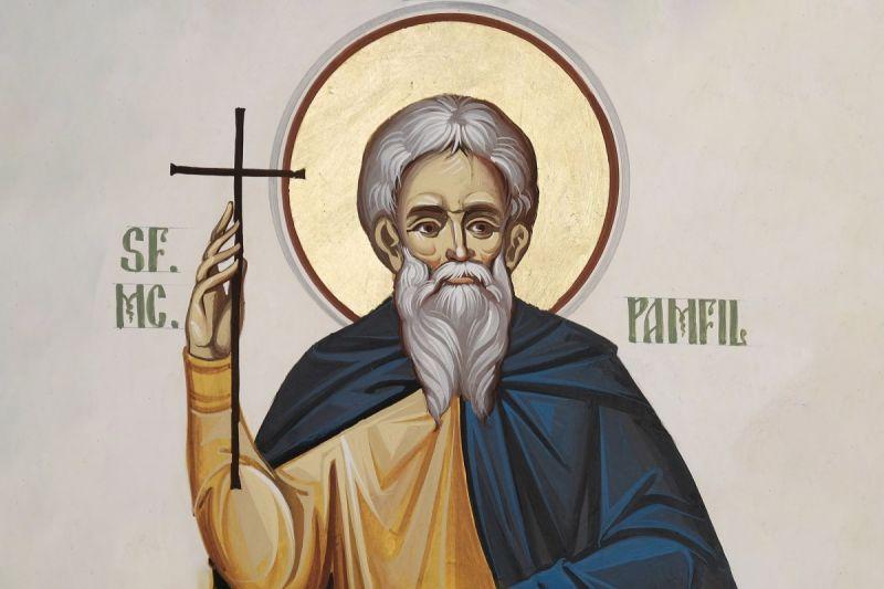 Sf. Sfinţiţi Mc. Pamfil preotul (240 - 309) - foto preluat de pe ziarullumina.ro