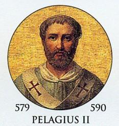 Papa Pelagius al II-lea a fost Papă al Romei din 26 Noiembrie, 579 până în data de 7 februarie, 590 - foto: ro.wikipedia.org