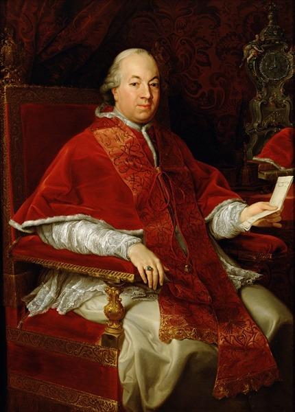 Papa Pius al VI-lea, conte Braschi, (născut la Cesena, în Romagna, Italia, la 25 decembrie 1717, decedat la Valence, Franţa, la 29 august 1799), a fost un episcop al Romei, papă al Bisericii Universale, (având numele în latină: Pius VI; numele în italiană: Pio VI, numele în franceză: Pie VI), între 15 februarie 1775, până la moarte - foto: ro.wikipedia.org
